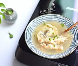 麻油九肚鱼汤-月子好补钙#非常规创意吃鱼法#的做法