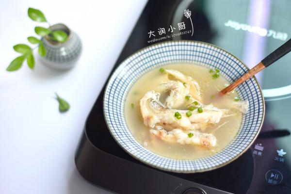 麻油九肚鱼汤-月子好补钙的做法