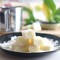 牛奶椰丝小方【超懒的懒人甜品】的做法图解12