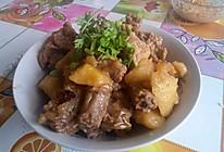 鸡脖炖土豆的做法