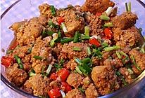 干锅鱼籽的做法
