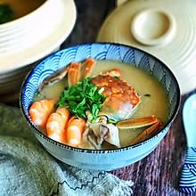 #肉食者联盟#砂锅海鲜粥