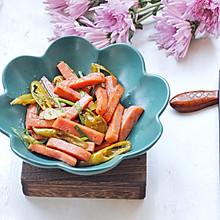 #今天吃什么#午餐肉炒腌辣椒