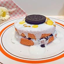四寸红丝绒蒸蛋糕酸奶蛋糕