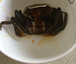 酱毛蟹的做法