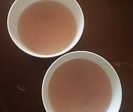 梨饮料(可治喘)的做法