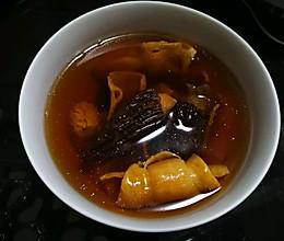 羊肚菌石斛花胶炖汤(滋阴养颜)的做法