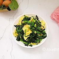 #网红美食我来做#菠菜炒鸡蛋的做法图解8