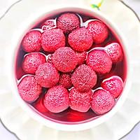 #花10分钟,做一道菜!#酸甜爽口的冰镇杨梅的做法图解11