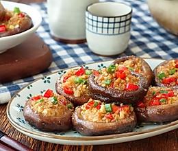 蒜蓉烤香菇的做法