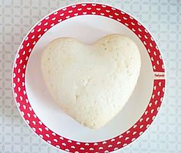 6寸心形天使蛋糕的做法