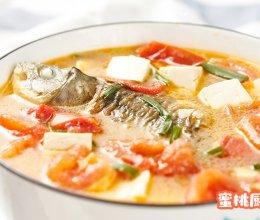 番茄豆腐鲫鱼汤的做法