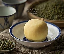 奶香绿豆馅的做法
