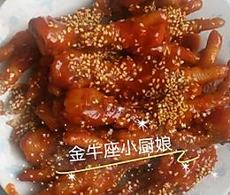 韩式辣炒鸡爪的做法