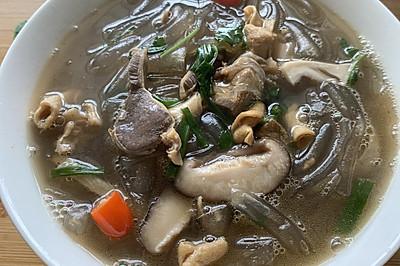 泰顺特色小吃:鸭内脏地瓜粉