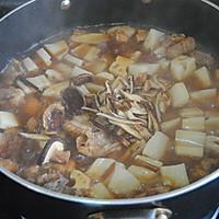 香菇莲藕炖排骨#金龙鱼外婆乡小榨菜籽油 最强家乡菜#的做法图解8