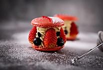 草莓开心果马卡龙的做法