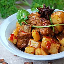最上瘾的绝味川菜——川味土豆烧排骨