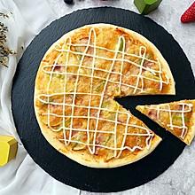 培根薯角薄底披萨