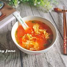 素之食谱—番茄蛋花汤