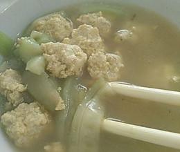 肉丸汤的做法