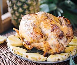 菠萝烤鸡的做法