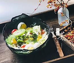 减肥健身之蔬菜水果沙拉的做法