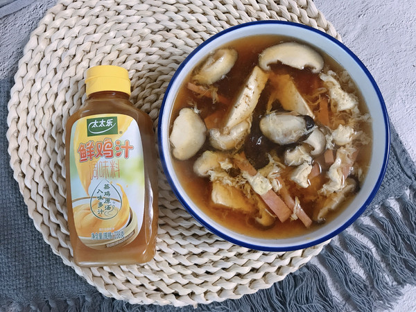低脂酸辣汤的做法
