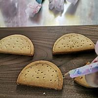 #美食新势力#蛋糕装饰插件~手绘糖霜饼干的做法图解11