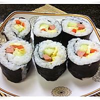 零厨艺------简单寿司的做法图解15