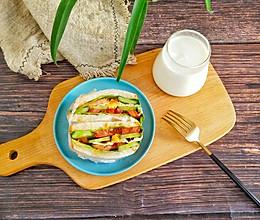 营养早餐~三明治的做法