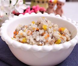鳕鱼胡萝卜烩饭 宝宝健康食谱的做法
