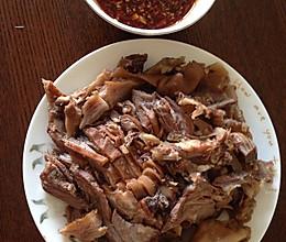 蘸汁羊头肉的做法