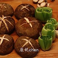 香菇炒青菜#宜家让家更有味#的做法图解3