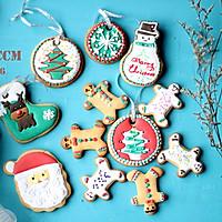 圣诞节装饰糖霜饼干的做法图解11