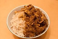 简单版牛肉丼(牛肉盖饭)的做法