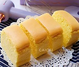 【超嫩古早蛋糕】|抖臀蛋糕|吐司盒版的做法