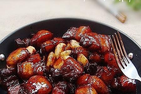 蒜香红烧肉的做法