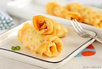 豆皮早餐饼 宝宝辅食食谱的做法