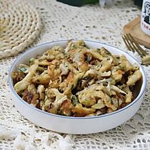 #巨下饭的家常菜#面煎蘑菇