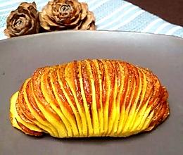 香肠孜然烤风琴土豆的做法