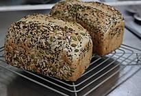 30%全麦的全麦杂粮吐司的做法