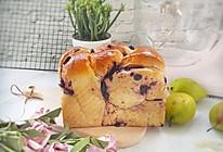蓝莓吐司#秋天怎么吃#的做法