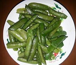五香豌豆角的做法