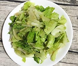 凉拌生菜的做法