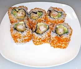 寿司   炸虾反卷的做法
