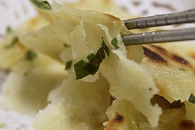 葱油手抓饼——拉风的面食学起来
