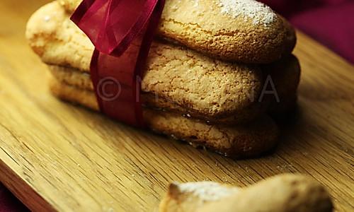 Ladyfinger手指饼干的做法