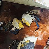 香辣梭子蟹烩年糕的做法图解11