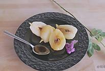 白葡萄酒煮梨的做法